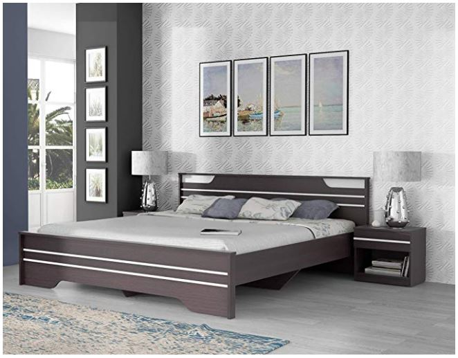 Home Package 2a Neo Queen Bed, Queen Bed And Bedside Tables
